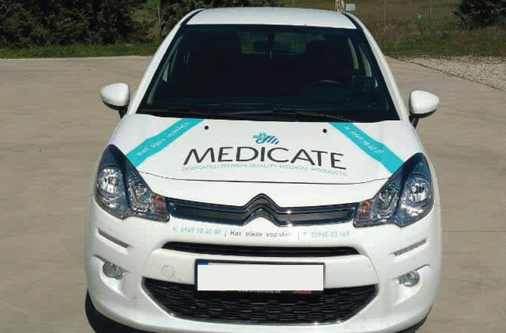 Medicate φιλοτέχνηση αυτοκινήτου