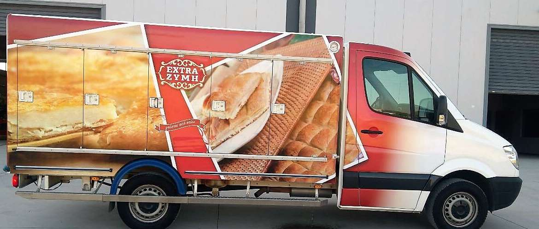 Έξτρα ζύμη Φιλοτέχνηση φορτηγού